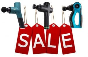 massage gun Black Friday Cyber Monday sale